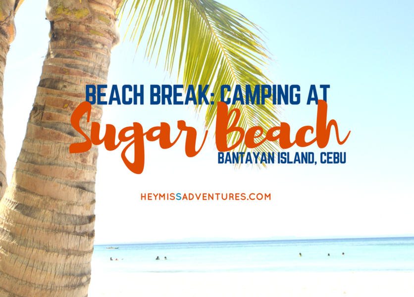 Beach Break: Sugar Beach, Bantayan, Cebu