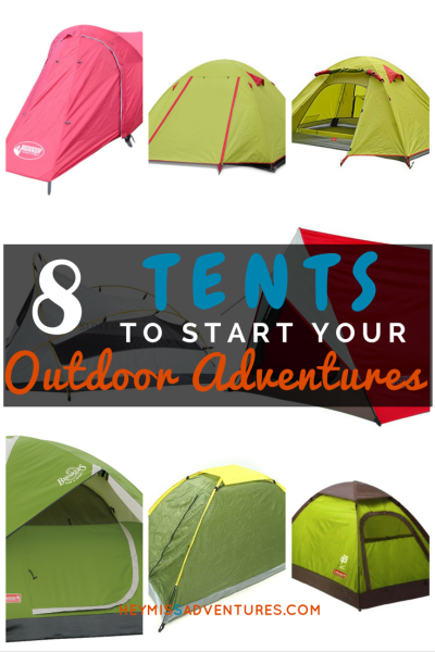 8 Tents to Start Your Outdoor Adventures | Hey, Miss Adventures!