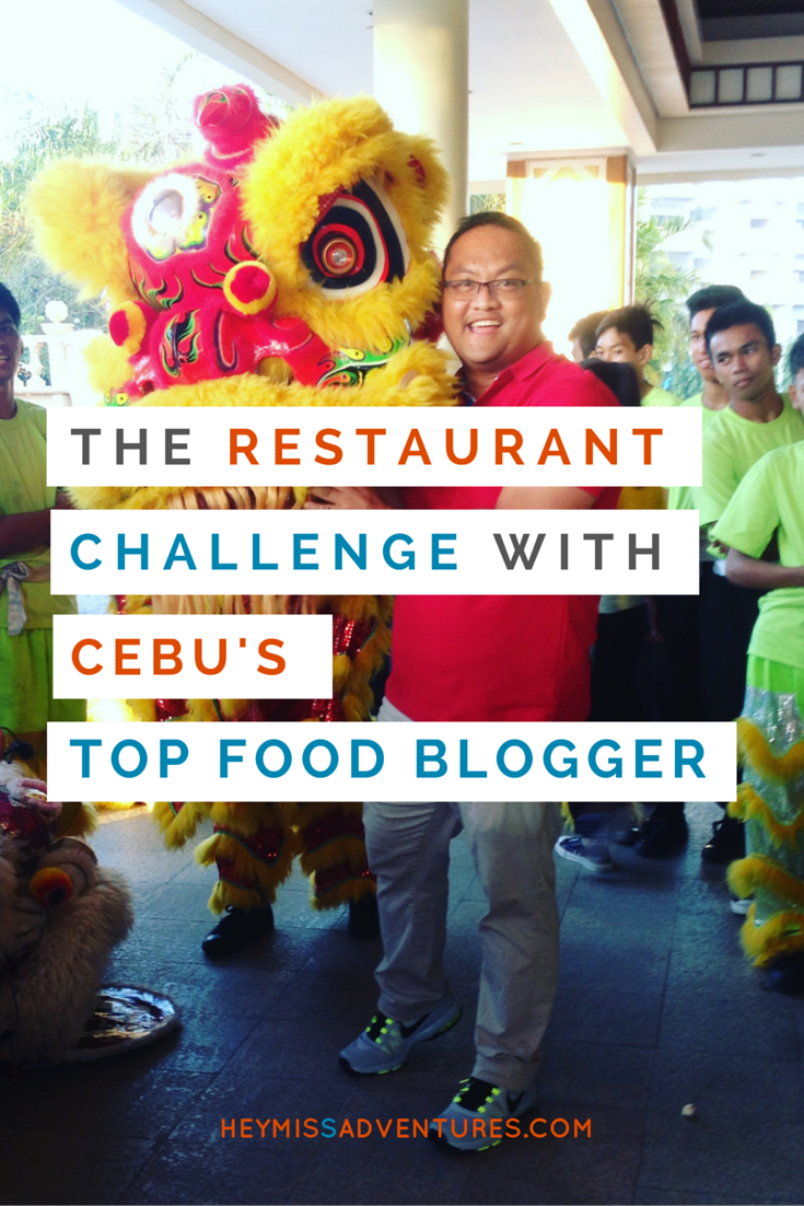 The Restaurant Challenge with Cebu's Top Food Blogger | Hey, Miss Adventures!