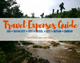 Eastern Mindanao Road Trip: Travel Expenses Guide