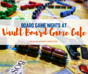 Board Game Nights at Vault Board Game Cafe